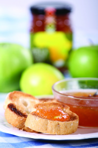 Apple and Ginger_Toast 1