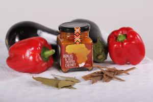 Brinjal & Red Pepper Chutney