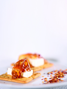 Chilli Mint and Ginger Jelly_Cheese and Cracker 1