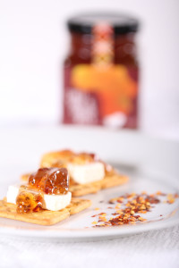 Chilli Mint and Ginger Jelly_Cheese and Cracker 3