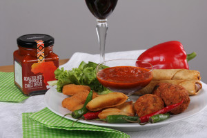 Roasted Red Pepper and Chilli Pesto_Meat Balls 2