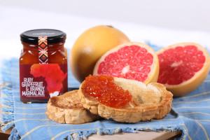 Ruby Grapefruit and Brandy Maramalade_Toast 3
